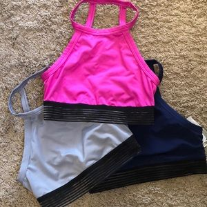 Set of 3 Victoria secret sports bras